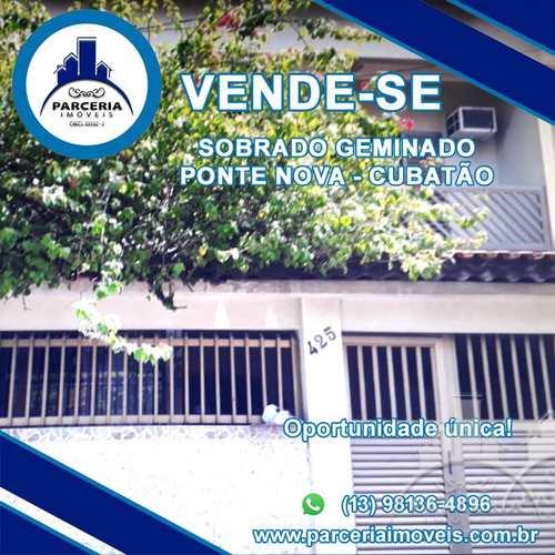 Sobrado, código 938 em Cubatão, bairro Vila Ponte Nova