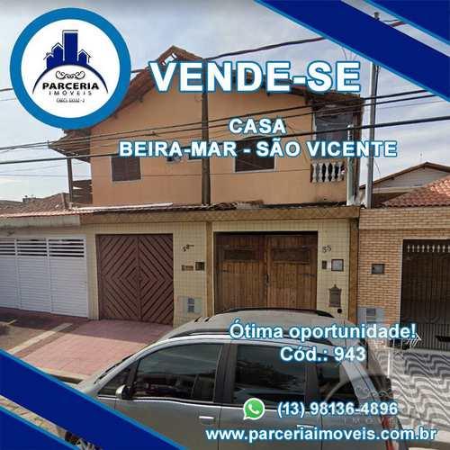 Sobrado, código 943 em São Vicente, bairro Vila Nossa Senhora de Fátima