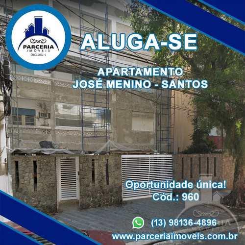 Apartamento, código 960 em Santos, bairro Pompéia