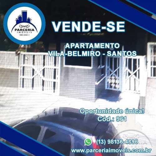 Apartamento, código 961 em Santos, bairro Vila Belmiro