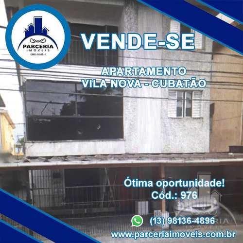 Apartamento, código 976 em Cubatão, bairro Vila Nova