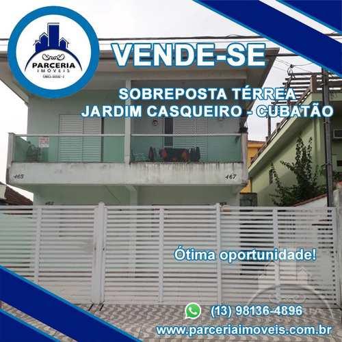 Casa, código 981 em Cubatão, bairro Jardim Casqueiro