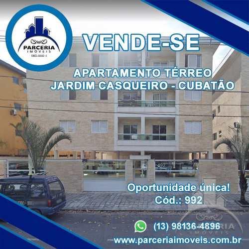 Apartamento, código 992 em Cubatão, bairro Jardim Casqueiro