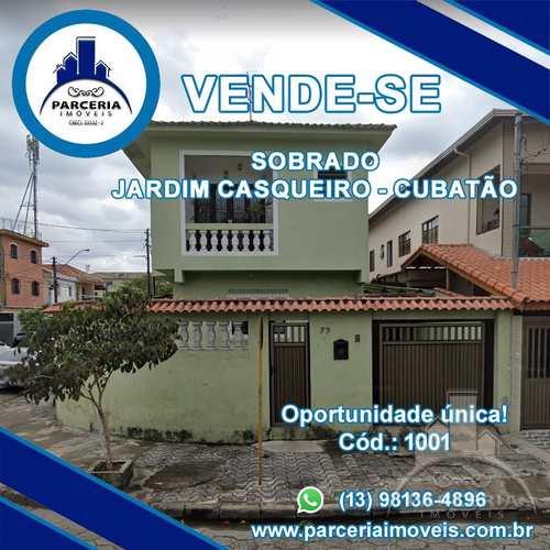 Sobrado, código 1001 em Cubatão, bairro Jardim Casqueiro