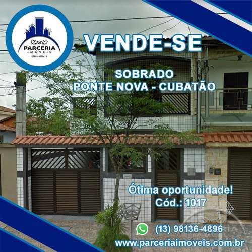 Casa, código 1017 em Cubatão, bairro Vila Ponte Nova