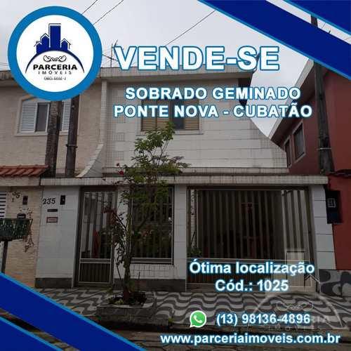 Sobrado, código 1025 em Cubatão, bairro Vila Ponte Nova