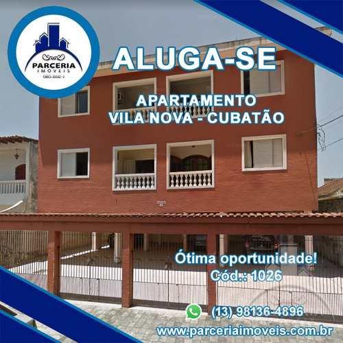 Apartamento, código 1026 em Cubatão, bairro Vila Nova
