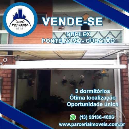 Casa, código 1028 em Cubatão, bairro Vila Ponte Nova