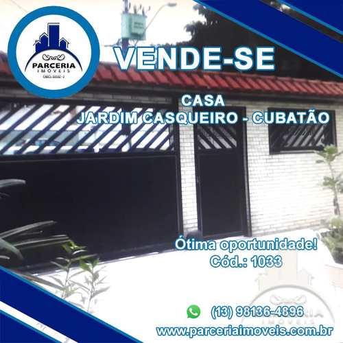 Casa, código 1033 em Cubatão, bairro Jardim Casqueiro