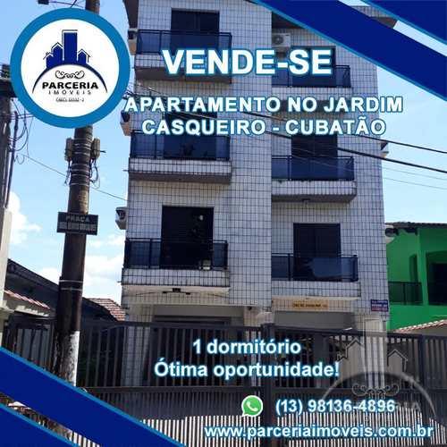 Apartamento, código 1039 em Cubatão, bairro Jardim Casqueiro