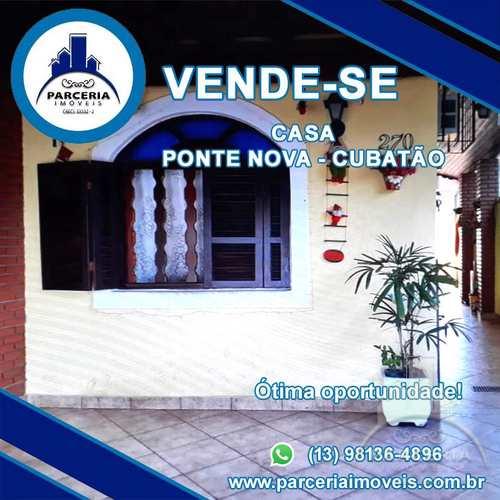 Casa, código 1040 em Cubatão, bairro Vila Ponte Nova