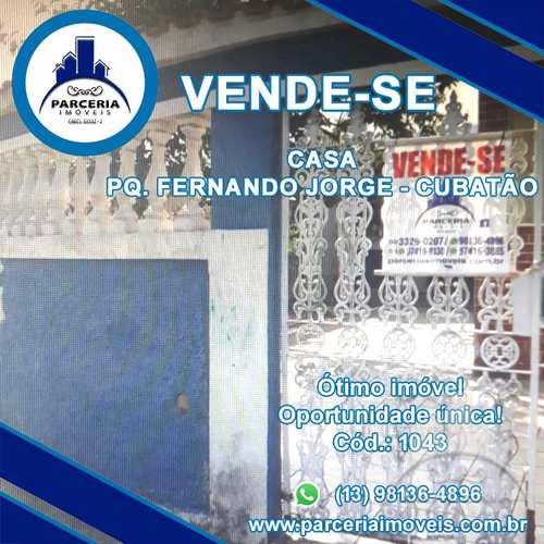 Casa, código 1043 em Cubatão, bairro Parque Fernando Jorge