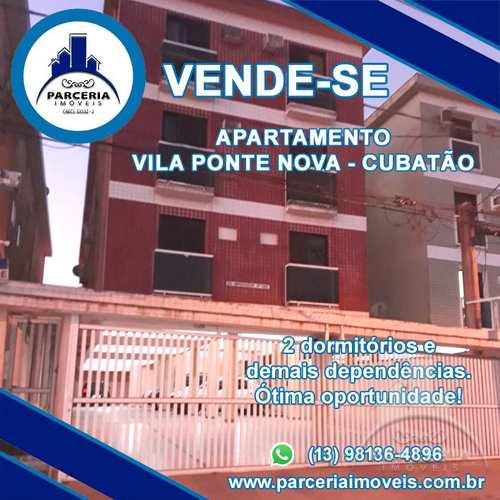 Apartamento, código 1059 em Cubatão, bairro Jardim Casqueiro