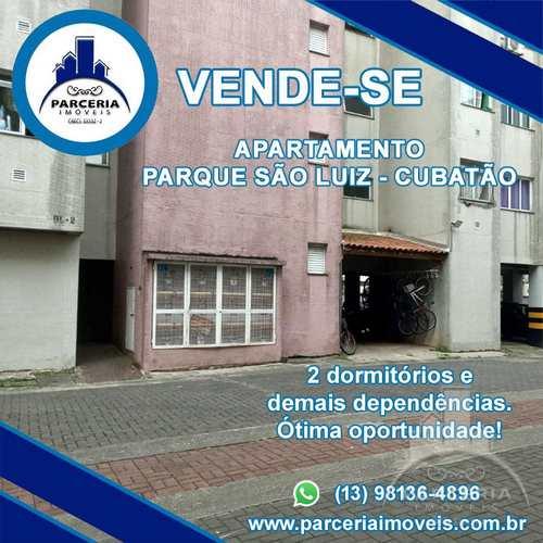 Apartamento, código 1060 em Cubatão, bairro Parque São Luis