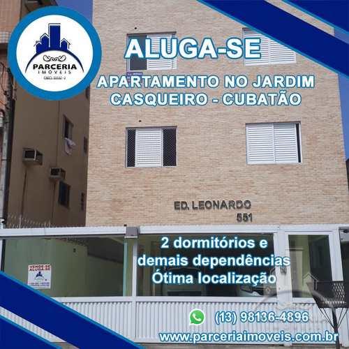 Apartamento, código 1063 em Cubatão, bairro Jardim Casqueiro