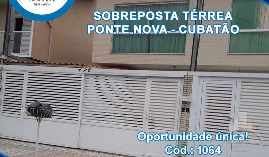 Casa em Cubatão, bairro Vila Ponte Nova