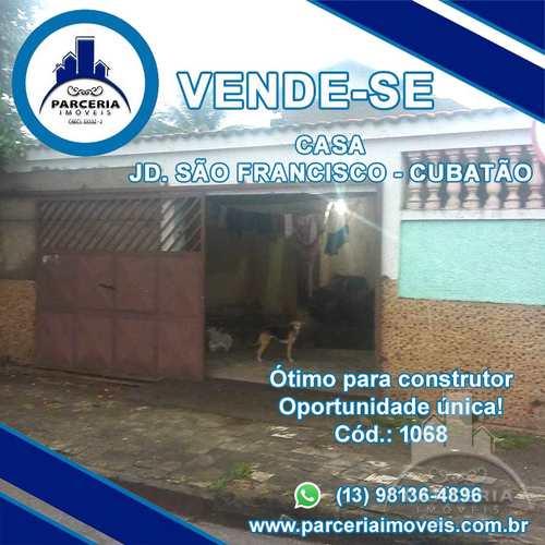 Casa, código 1068 em Cubatão, bairro Jardim São Francisco