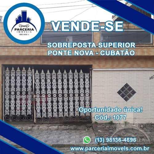 Casa, código 1077 em Cubatão, bairro Vila Ponte Nova