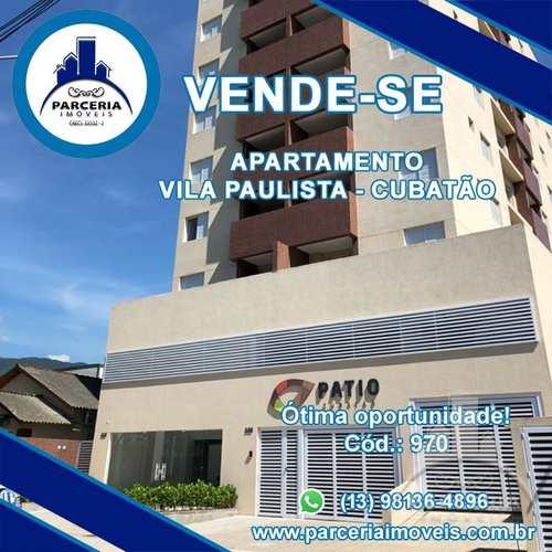 Apartamento, código 1089 em Cubatão, bairro Vila Paulista