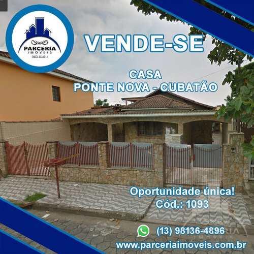 Casa, código 1093 em Cubatão, bairro Vila Ponte Nova