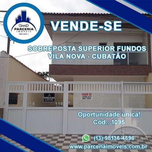 Casa, código 1095 em Cubatão, bairro Vila Nova
