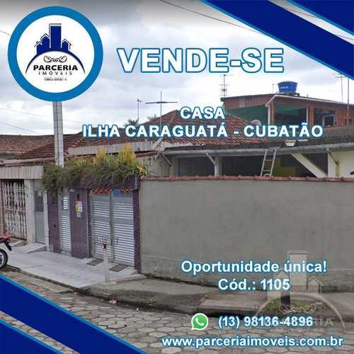 Casa, código 1105 em Cubatão, bairro Vila Caraguata