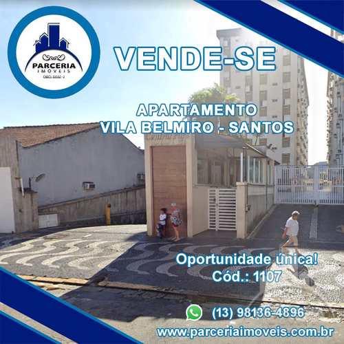 Apartamento, código 1107 em Santos, bairro Vila Belmiro