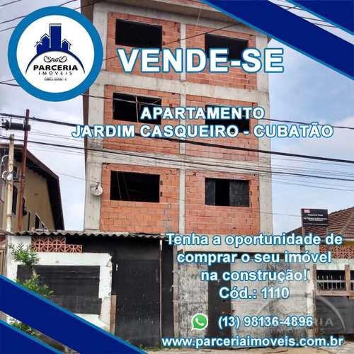 Apartamento, código 1110 em Cubatão, bairro Jardim Casqueiro