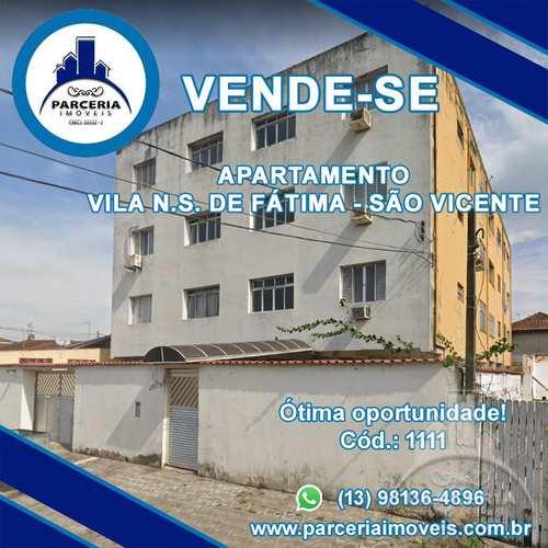 Apartamento, código 1111 em São Vicente, bairro Vila Nossa Senhora de Fátima