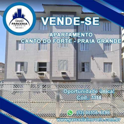 Apartamento, código 1114 em Praia Grande, bairro Canto do Forte