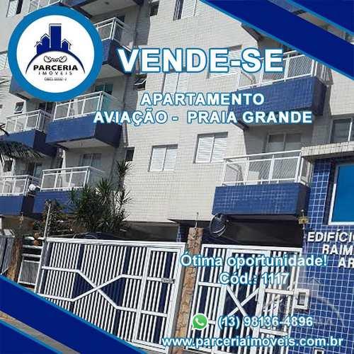 Apartamento, código 1117 em Praia Grande, bairro Aviação