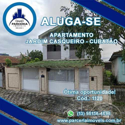 Apartamento, código 1120 em Cubatão, bairro Jardim Casqueiro