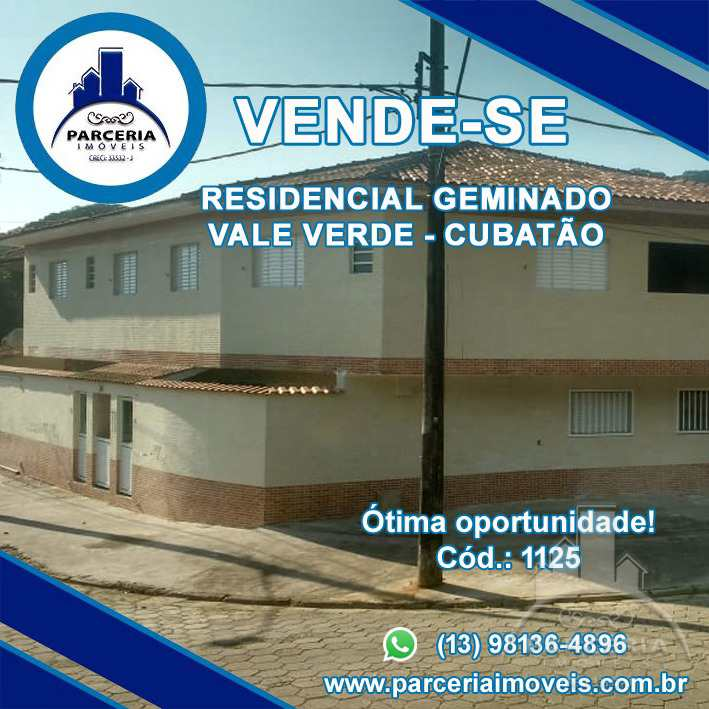 Casa em Cubatão, no bairro Vale Verde