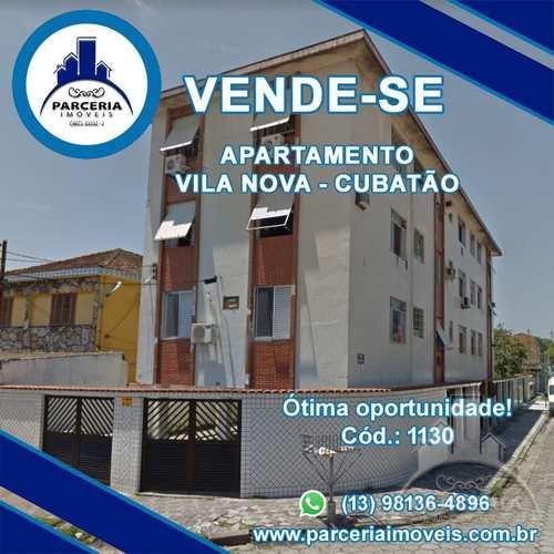 Apartamento, código 1130 em Cubatão, bairro Vila Nova