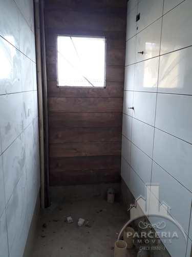 Apartamento, código 1133 em Cubatão, bairro Jardim Casqueiro