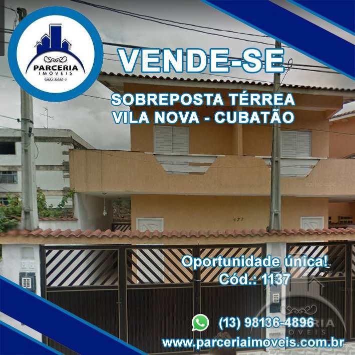 Casa em Cubatão, no bairro Vila Nova
