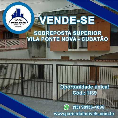 Casa, código 1139 em Cubatão, bairro Vila Ponte Nova