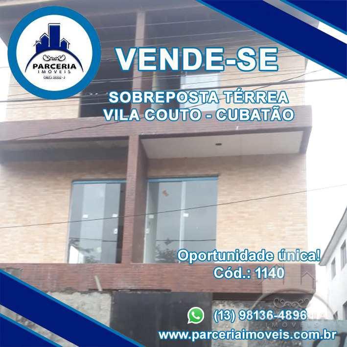 Casa em Cubatão, no bairro Vila Couto