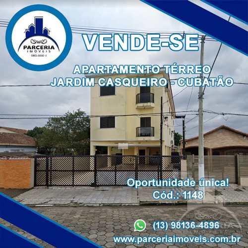 Apartamento, código 1148 em Cubatão, bairro Jardim Casqueiro