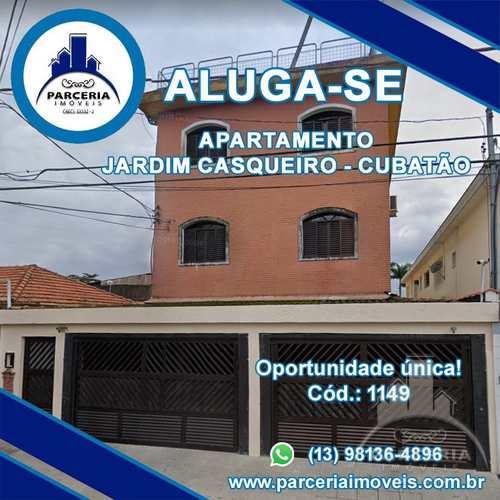 Apartamento, código 1149 em Cubatão, bairro Jardim Casqueiro