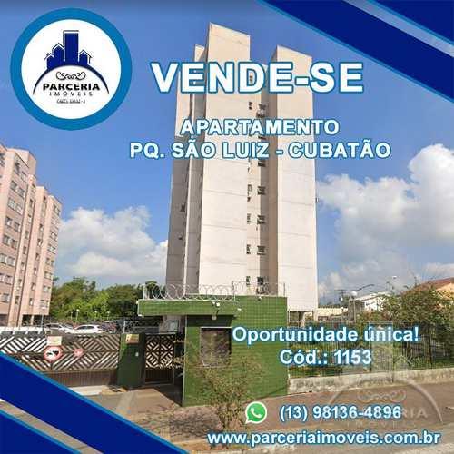 Apartamento, código 1153 em Cubatão, bairro Parque São Luis