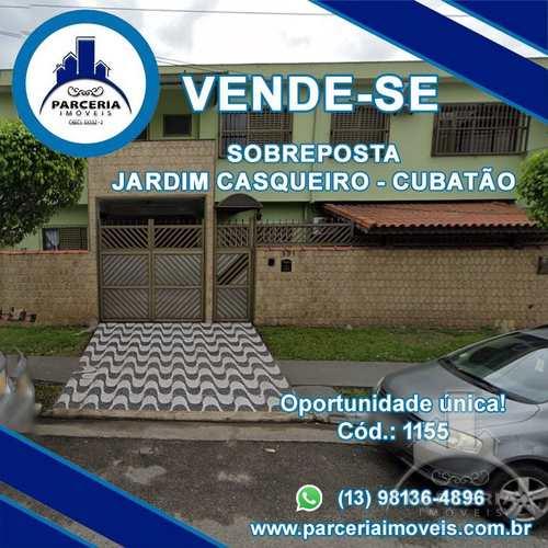 Casa, código 1155 em Cubatão, bairro Vila São Benedito