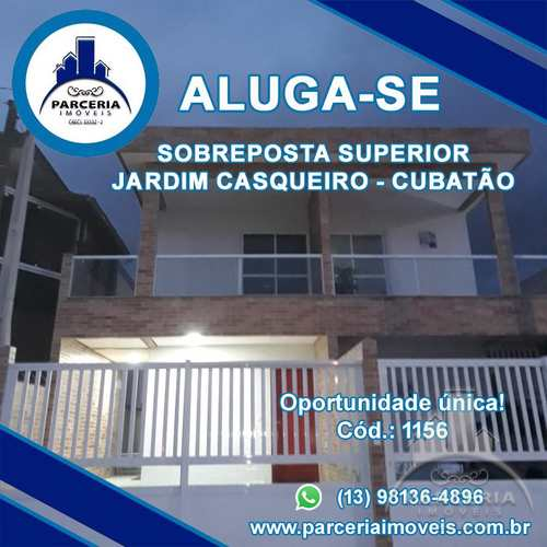 Casa, código 1156 em Cubatão, bairro Jardim Casqueiro
