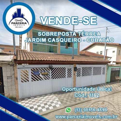 Casa, código 1162 em Cubatão, bairro Jardim Casqueiro