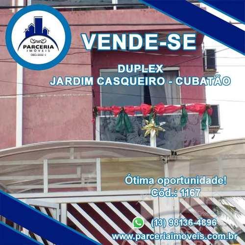 Casa, código 1167 em Cubatão, bairro Jardim Casqueiro