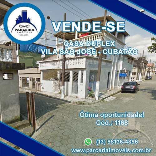Casa, código 1168 em Cubatão, bairro Vila São José