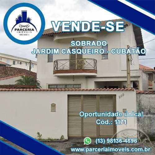 Sobrado, código 1171 em Cubatão, bairro Jardim Casqueiro