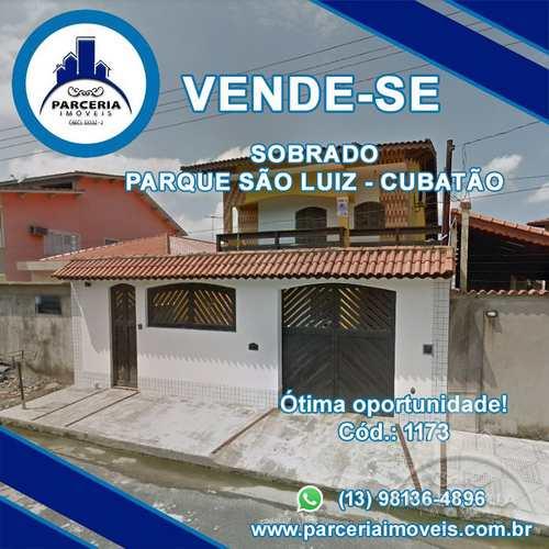 Sobrado, código 1173 em Cubatão, bairro Parque São Luis