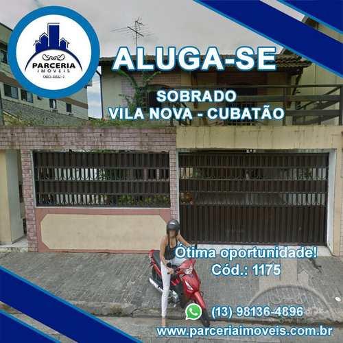 Sobrado, código 1175 em Cubatão, bairro Vila Nova