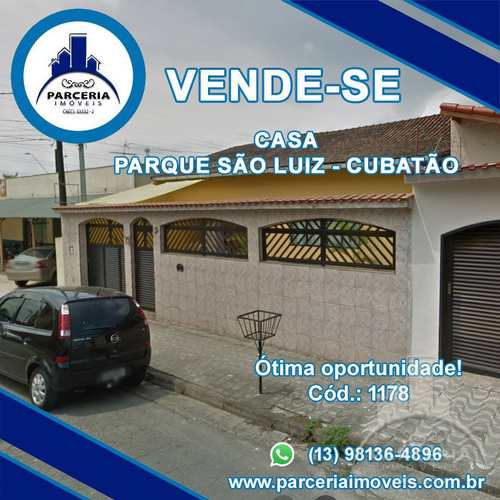 Casa, código 1178 em Cubatão, bairro Parque São Luis